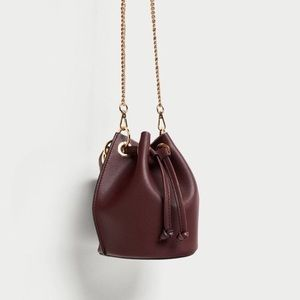 Zara Mini Bucket Bag